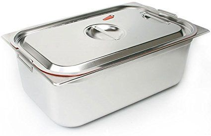 Characin Large Capacity Airtight Stainless Steel Kimchi Food Storage Container 26 5l 7gal 21 Leak Food Storage Containers Storage Containers Food Storage
