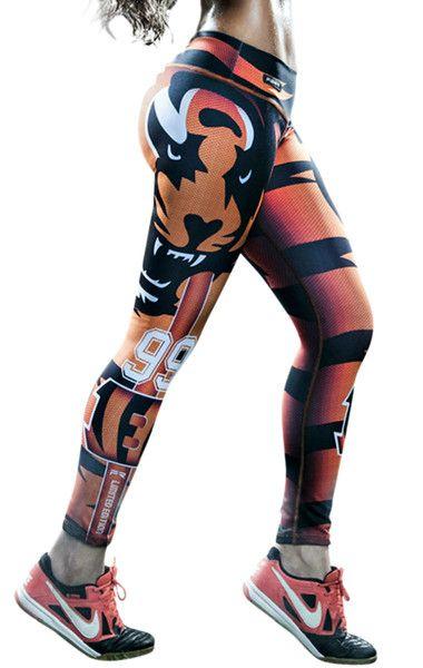 Fiber - Cincinnati Bengals leggings https://www.etsy.com/shop/ElectricTurtles
