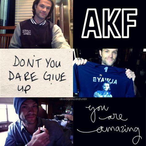 #OneYearOfAKF Always Keep Fighting