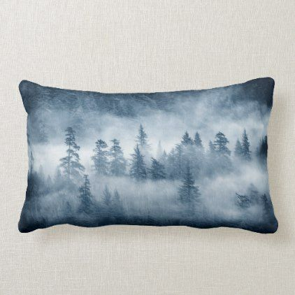 Rain Forest Clouds In The Pacific Northwest Lumbar Pillow Zazzle Com Lumbar Pillow Rainforest Lumbar