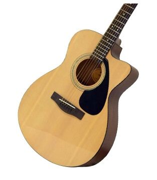 Yamaha Fs100c Natural Acoustic Guitar Acoustic Guitar Guitar Acoustic