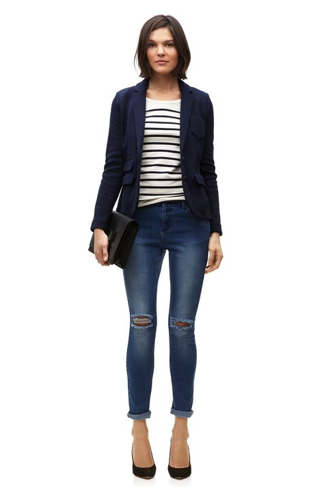 Casual blazer outfit for women you must have 28