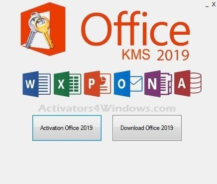 Office 2019 KMS Activator Ultimate helps you to activate Office 2019