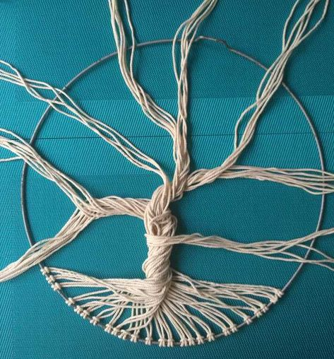 How to make a Tree of Life with rope - Imgur