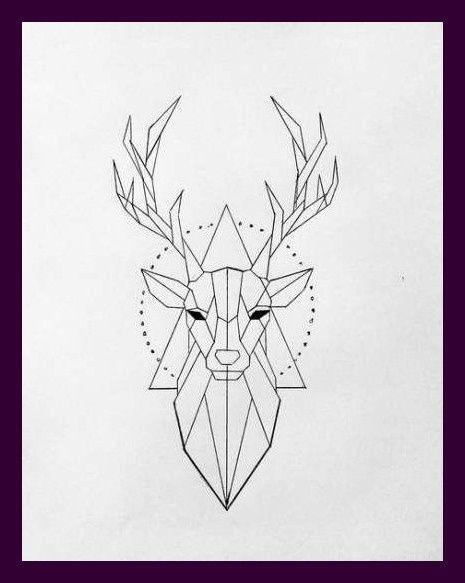 Ideas De Inspiracion Para Tatuajes De Ciervos De Animales Para Ideas De Tatuajes Ideas De Tatuajes De Geometric Art Animal Geometric Tattoo Deer Geometric Deer