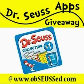 Giveaway - Set of 5 Classic Dr. Seuss Books {at obSEUSSed} ends Sunday 3/1/15.