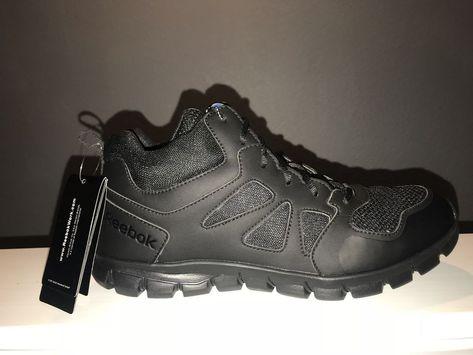 Reebok Work Men S Rb8405 Sublite Cushion Tactical Mid St Work Shoe Black Fashion Clothing Shoes Accessories Mensshoes Reebok Work Black Shoes Work Shoes