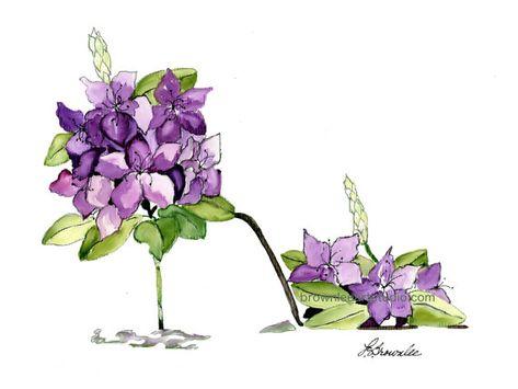 Imprime Chaussure 2016 Fleur Rhododendron Stiletto Signes Et