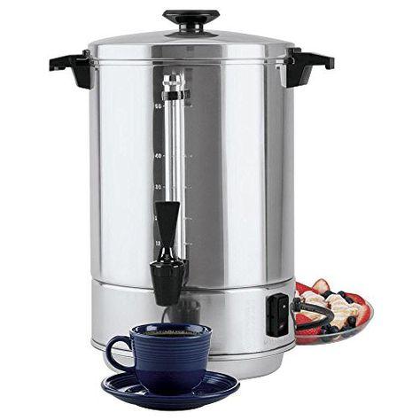 Portable Electric Coffee Percolator Traditional Style 12 To 55 Cup Percolator Coffee Coffee Urn Coffee