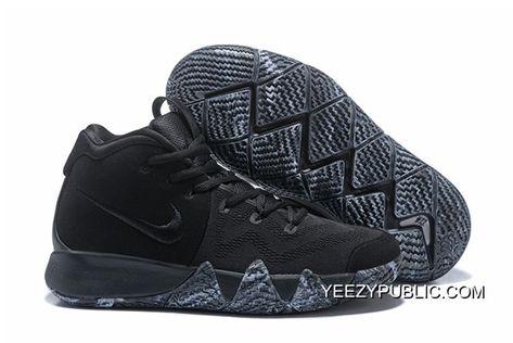 """fbbb660a92e9ae 2019 的 Top Deals Nike Kyrie 4 """"Triple Black"""" 主题"""