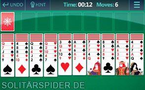 Spider Solitar Arkadium Online In 2020 Karte Spiel Kartenspiel Spiele