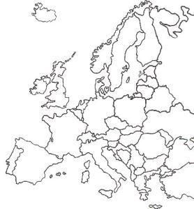 Espaa Mapas gratuitos mapas mudos gratuitos mapas en blanco