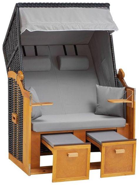 Strandkorb Basic 2 Sitzer Bxtxh 118x80x160 Cm In 2020 Haus