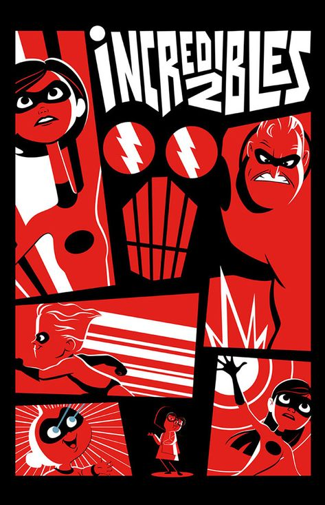 An Incredibles 2 Art Show Is Coming to Gallery Nucleus in June