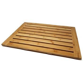 Factory Supply Teak Wood Bath Mat