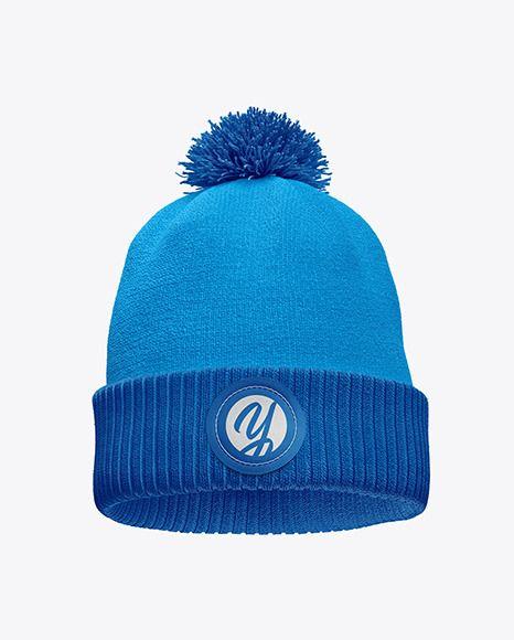 Download Winter Hat Mockup In Apparel Mockups On Yellow Images Object Mockups Design Mockup Free Free Psd Design Winter Hats