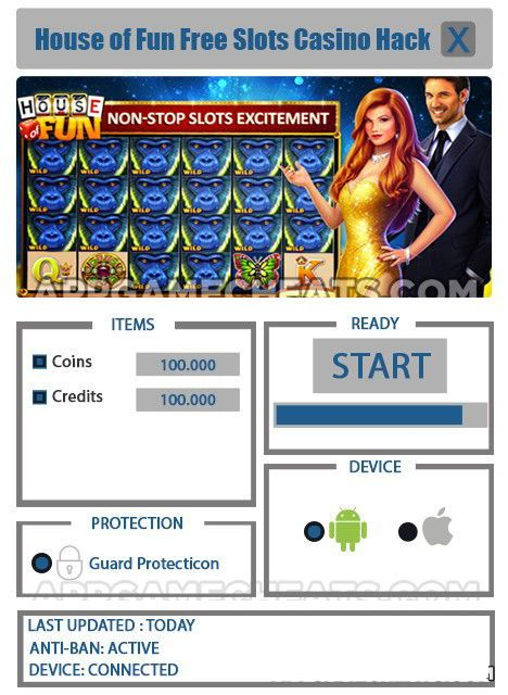 House Of Fun Unlimited Coins Mod Apk House Of Fun 200 Free Spins