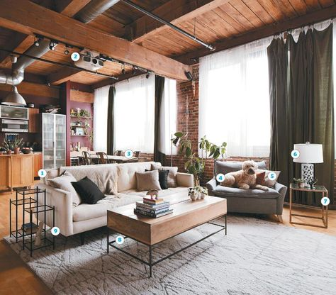 Loft living for newlyweds | Apartment decorating for couples ...
