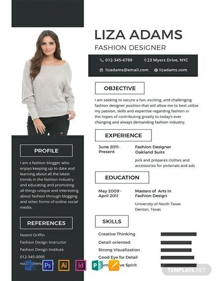 Pin On All In One Resume Template