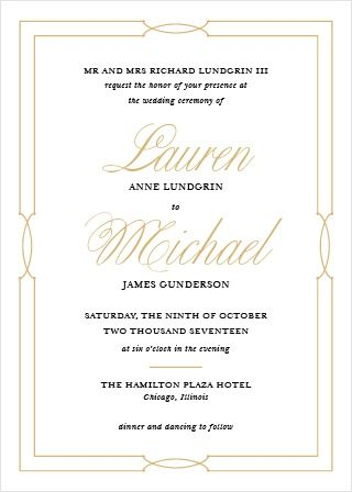 Our Love Knots Wedding Invitations Give Classic Elegance A Twist Wedding Invitations Examples Sample Wedding Invitation Wording Wedding Reception Invitations