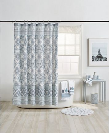 Peri Capri Medallion Shower Curtain Reviews Shower Curtains
