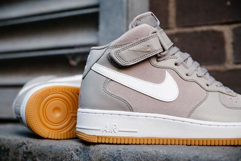 Nike Air Force 1 Mid 07 - Dark Charcoal/Black | Style / Well Dressed |  Pinterest | Charcoal black, Nike air force and Air force