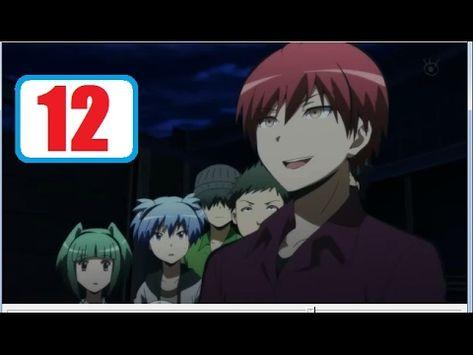Ansatsu Kyoushitsu Episode 12 Englishdub Youtube Anime In This