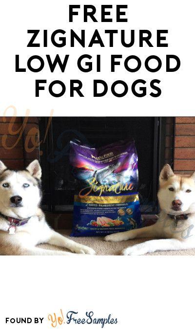 Free Zignature Dog Food Sample Free Stuff Coupons Offers