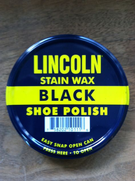 great deals classic fit low price Lincoln Shoe Polish Our go-to | Black shoe polish, Shoe polish, Shoes