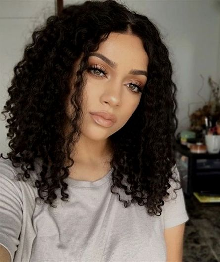 90 Easy Hairstyles For Naturally Curly Hair Front Hair Styles