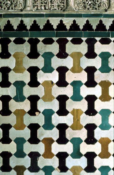 Alhambra Granada 0205 Mosaic Tile Patterns Alhambra
