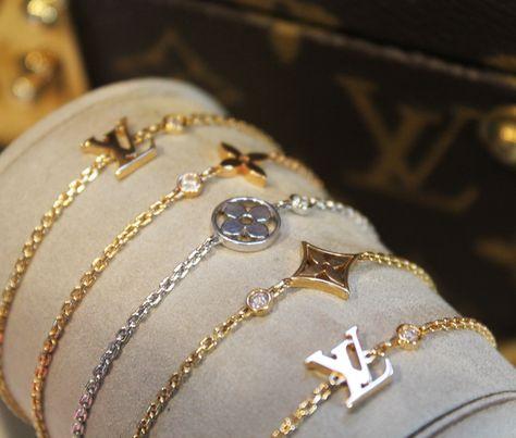 93f7e5ea145a Louis Vuitton Idylle Blossom bracelets in pink