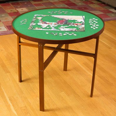 Puzzle Table, Puzzle Round Table