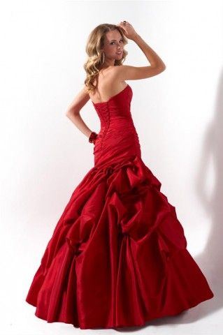 5dd59c1618d List of Pinterest crimson red wedding bridesmaids style pictures ...
