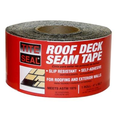 Roof Deck Seam Tape In 2020 Deck Sealing Deck Roof Deck
