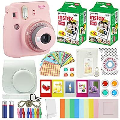 Fujifilm Instax Mini 9 Instant Camera Special Edition Clear Pink Compatible Carrying Case Fuji I In 2020 Fujifilm Instax Mini Instant Camera Fuji Instax