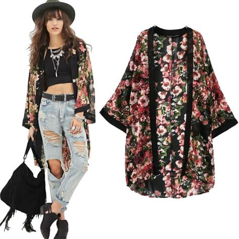 -font-b-Stylish-b-font-2016-Womens-Casual-Vintage-Flower-Floral-Print-Chiffon-Kimono-Cardigan.jpg (866×866)
