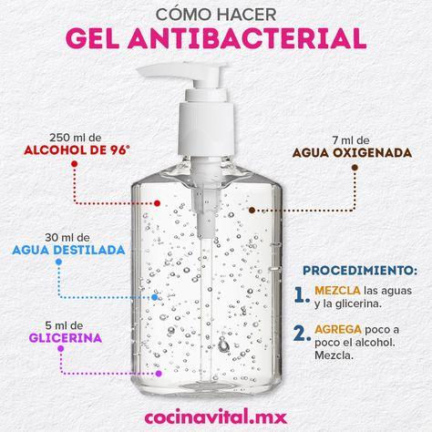 Cómo hacer gel antibacterial en casa | Receta