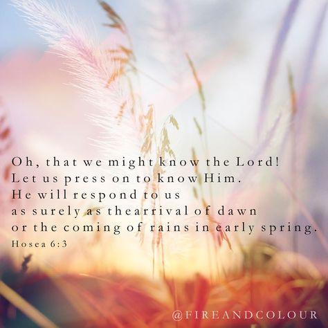 Bible Verse Scripture - Hosea Love this verse so much