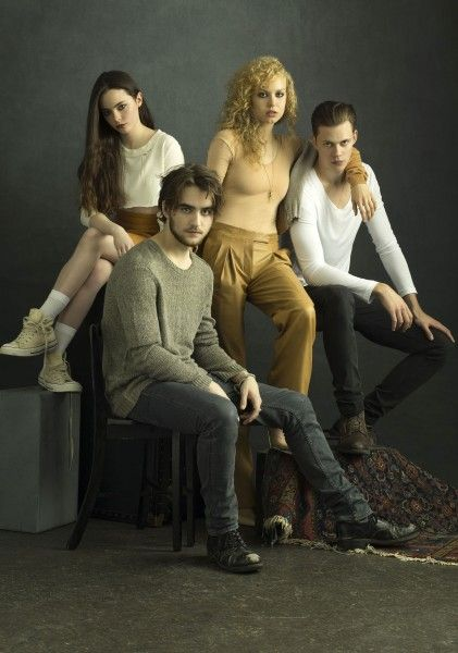 hemlock grove cast - new favorite. My friend forced me to watch it at a sleepover. I said it was stupid. She woke up and I was on episode 8 out of 13.