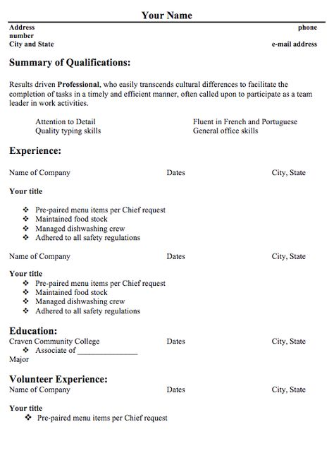 Resume Template For BabySitter - http\/\/exampleresumecvorg\/resume - Team Leader Resume