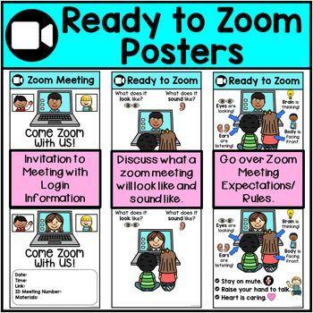 Fun Zoom Meeting Ideas Kids Material Escolar En Ingles Clases En Linea Habilidades Sociales