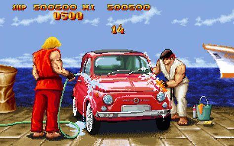 Level Up Con Imagenes Personajes De Street Fighter