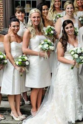 Dessy Group Alfred Sung Dresses Http://www.dessy.com/bridesmaid Dresses/ Alfredsung/ #bluebridesmaiddress | REAL WEDDINGS | Dessy Group Weddings |  Pinterestu2026