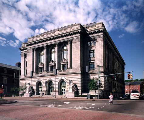 Providence Federal Building: This building was constructed in 1904-08 as the city's third Federal building. It is an exceptionally well-conceived example of the classical Beaux Arts style design favored for monumental public buildings at the turn of the century.