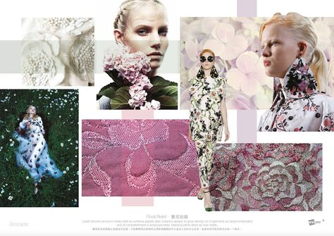 FASHION VIGNETTE: TRENDS // SPIN EXPO - BROCADE . SS 2017