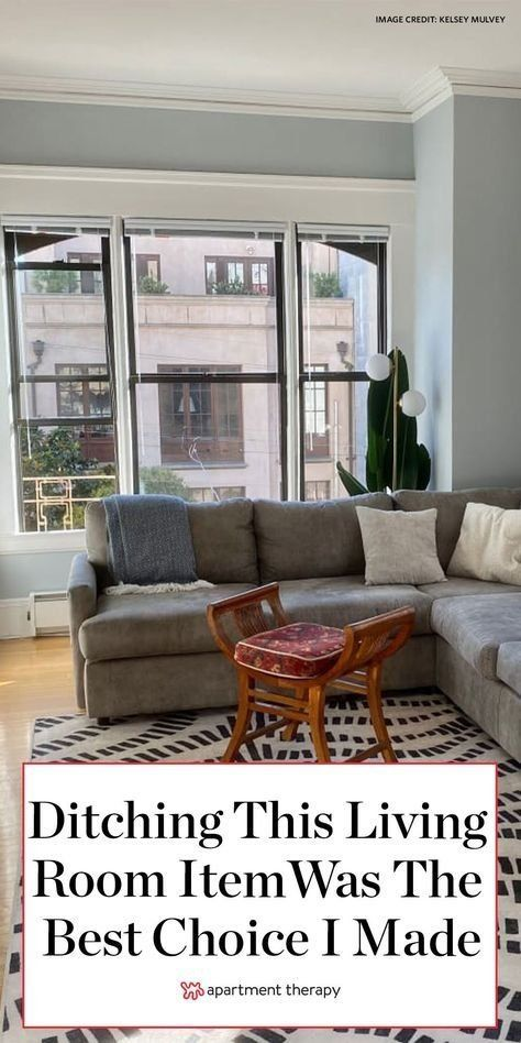Why Ditching This Living Room Staple Was The Best Design Choice I Ve Ever Made Living Room Without Coffee Table Living Room Living Room Mirrors
