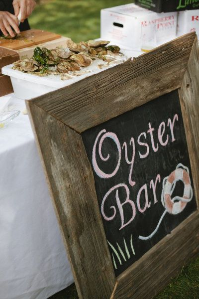 oyster bar.