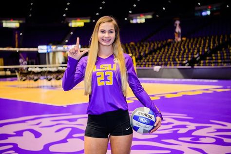 1 057 Likes 7 Comments Lsu Volleyball Lsuvolleyball On Instagram Callin Baton Rouge We Add Four To The Lsu Family Lsu Baton Rouge Rouge