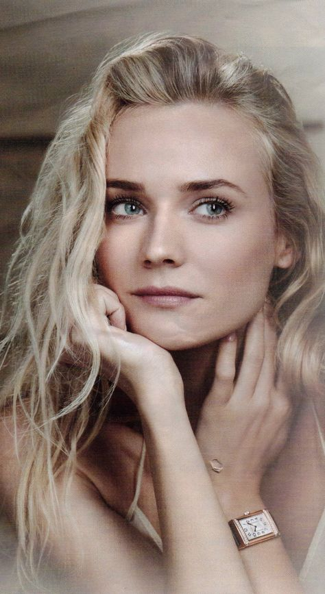 Diane Kruger... the most beautiful woman in the world, in my opinion